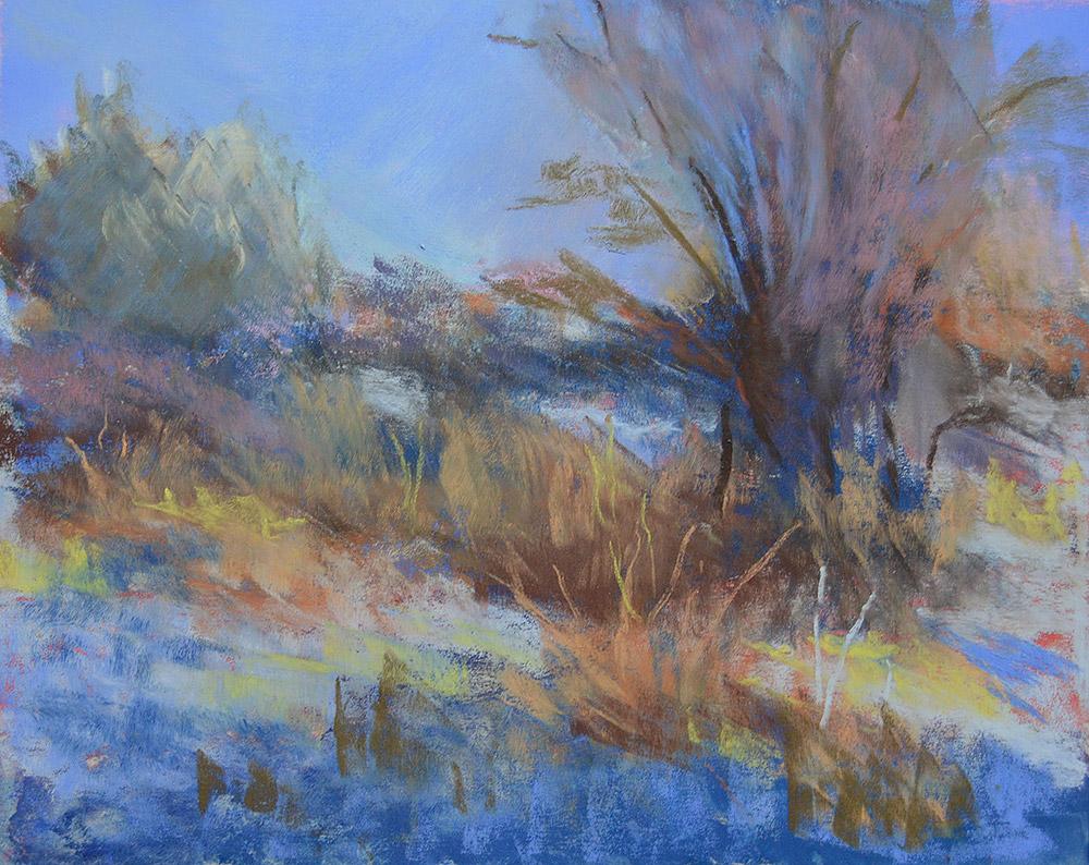 Pastel Painting by Barbara Garret