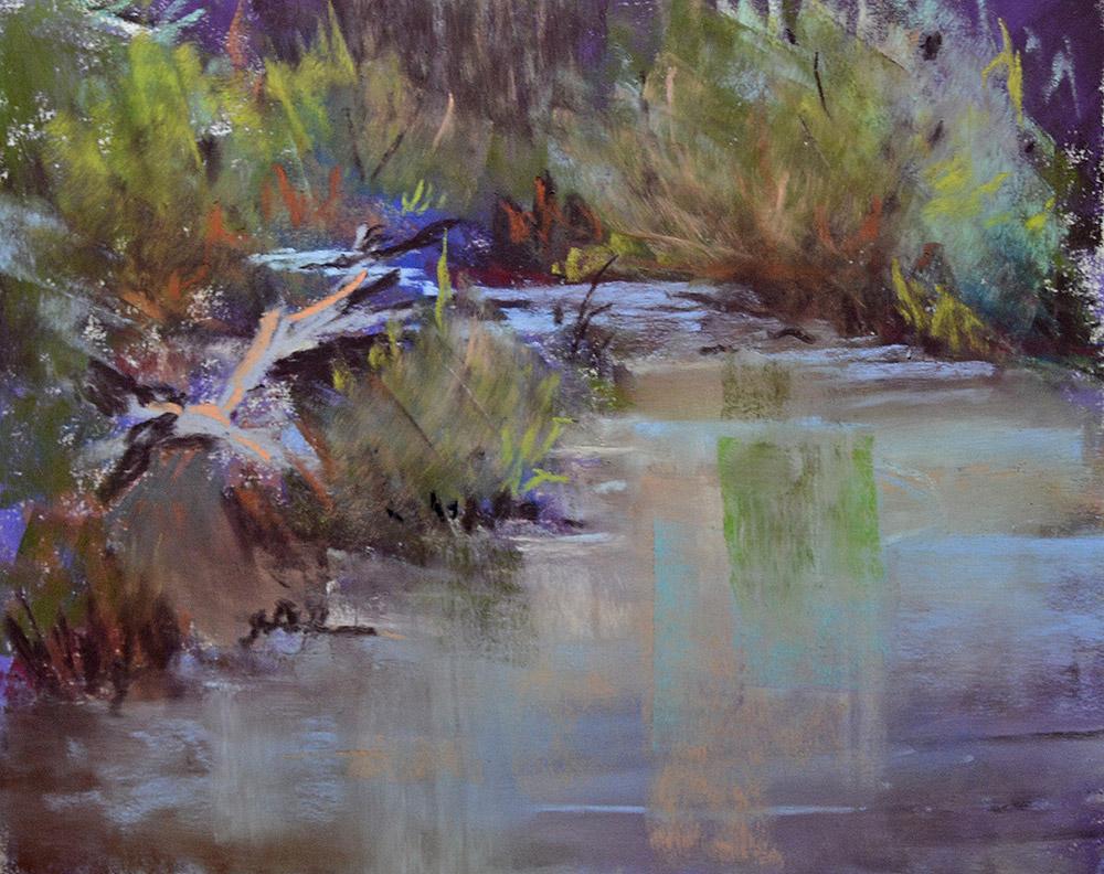 Pastel Painting by Barbara Garrett