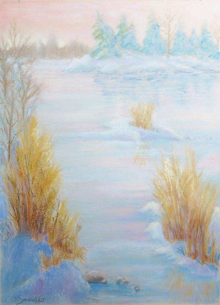 Pastel Painting by Carol Smeraldo