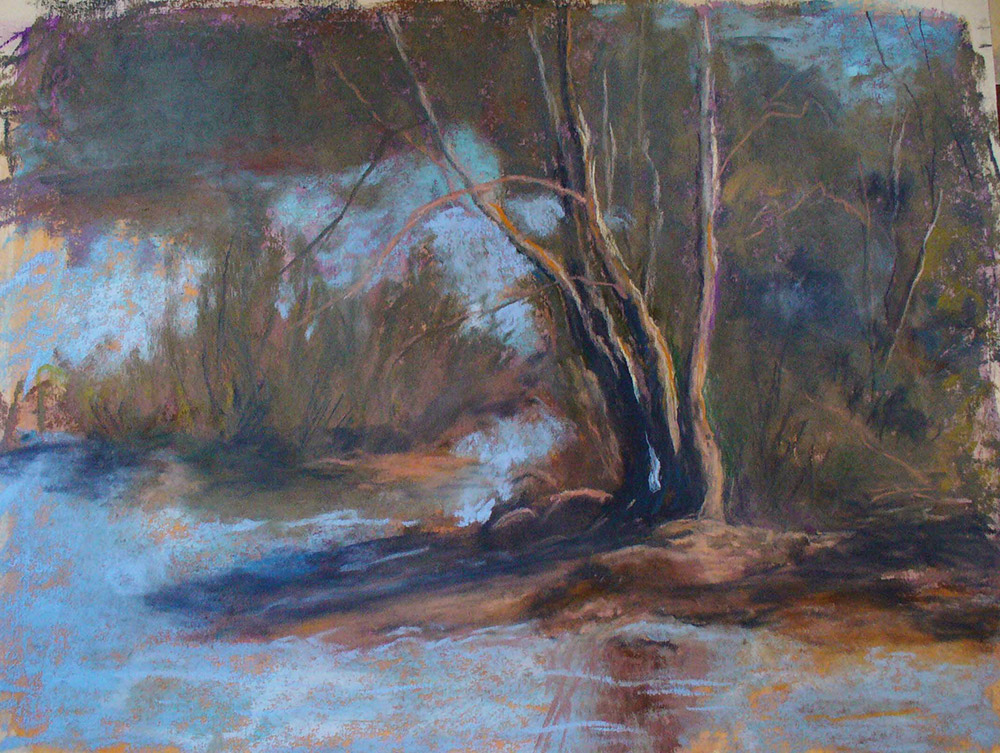 Pastel Painting by Erma Day