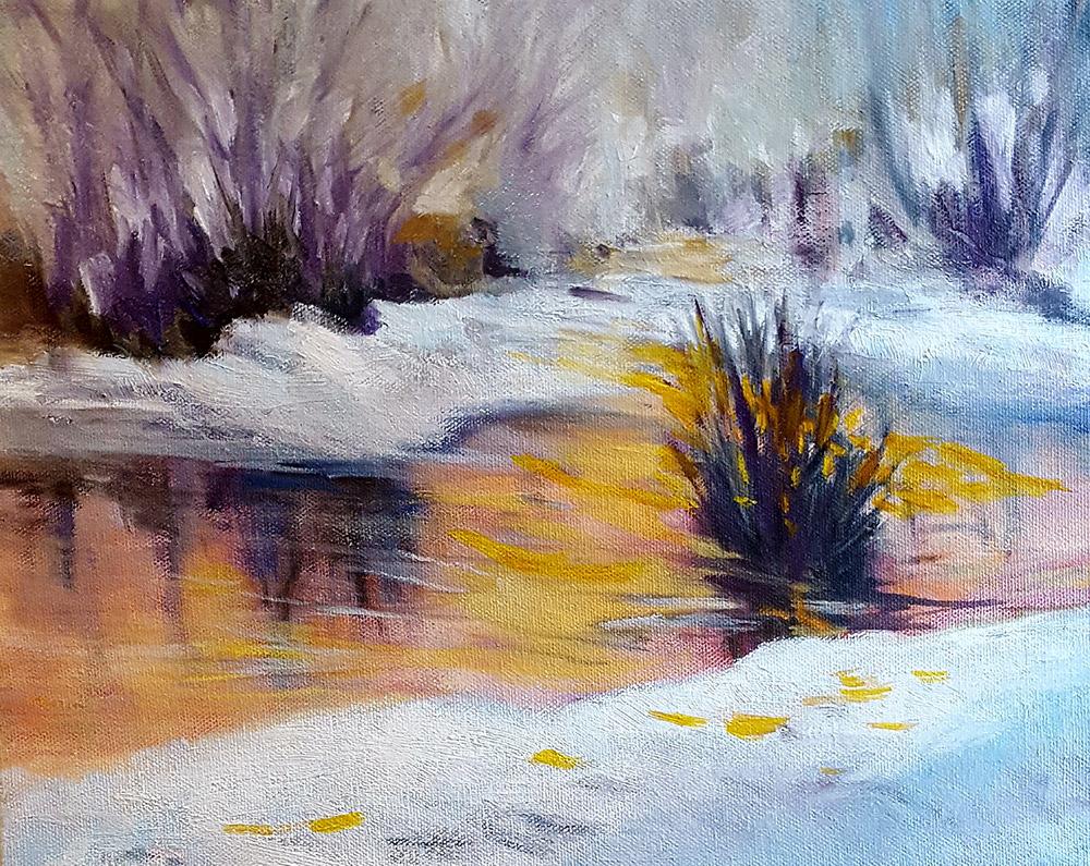 Oil Painting by Joy Yoo
