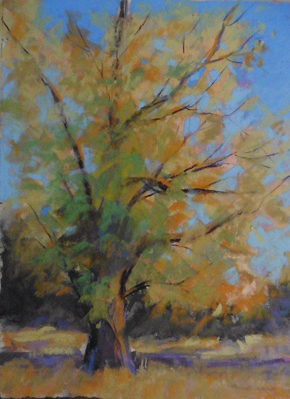 Pastel Painting by Nancy Misek
