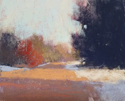 Pastel painting detail from Barbara Jaenicke