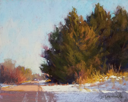 Barbara Jaenicke pastel palette selection lesson painting